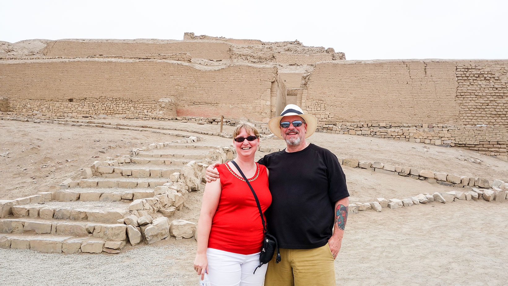 At the Temple of the Sun, Pachacamac