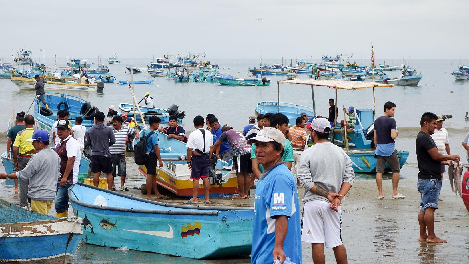 The Fishing Fleet Arrives