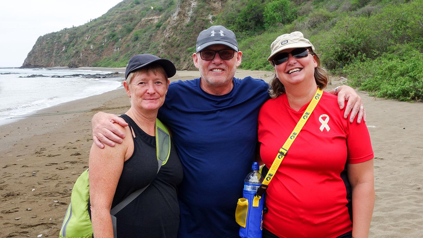 Jodi, Neil, and Chantal