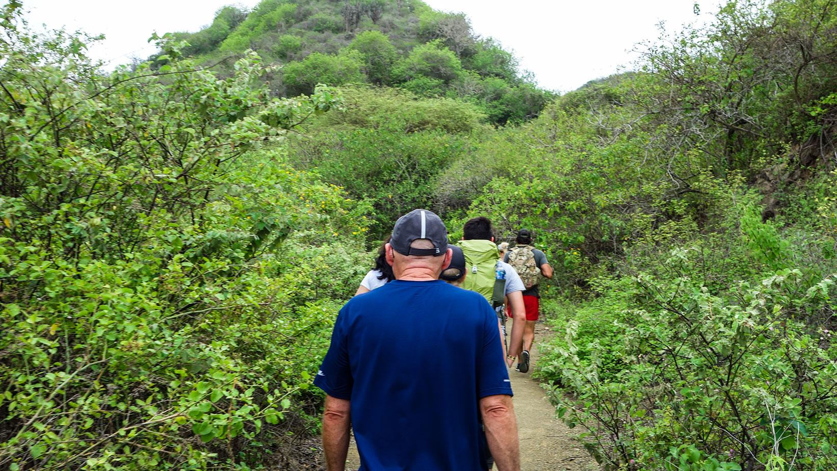 Hiking Isla de la Plata
