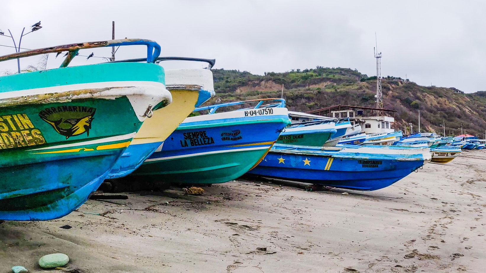 The Puerto Cayo Fleet