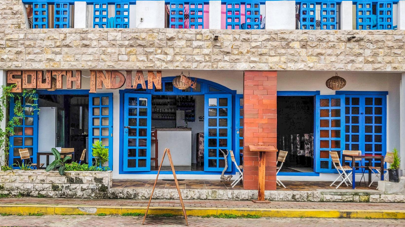 South Indian Restaurant, Olón